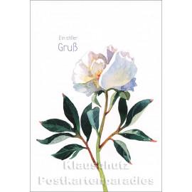Taurus Trauerkarte - Ein stiller Gruß
