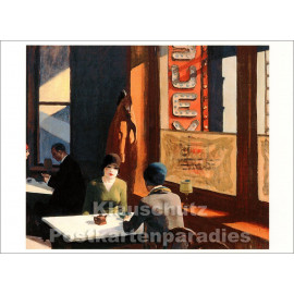 Edward Hopper Kunstpostkarte von Taurus | Chop Suey