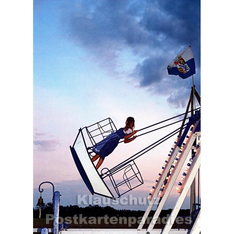 Einmal Schiffschaukeln - Discordia Huraxdax Postkarte