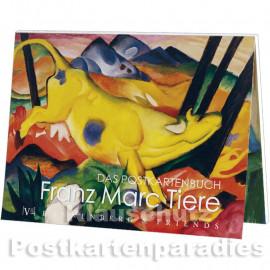 Rannenberg Postkartenbuch Kunst | Franz Marc