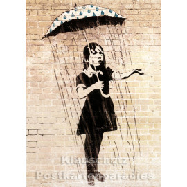Banksy Kunstkarte | Into the World