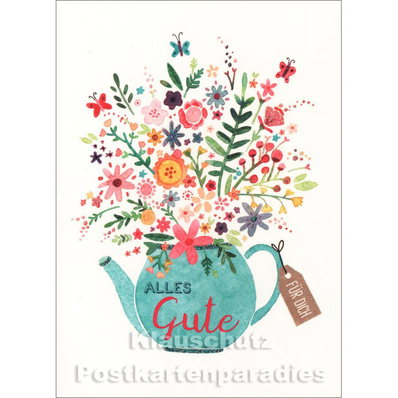 Alles Gute für Dich | Little Greetings Midi-Doppelkarte