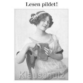 Lesen pildet - Sprüche Postkarten von Discordia