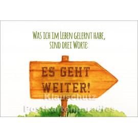 Rannenberg und Friends Postkarte | Es geht weiter!