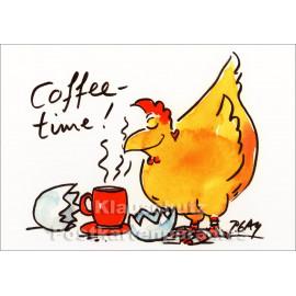 Discordia Peter Gaymann Postkarten |Coffeetime!