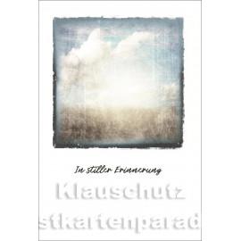 SkoKo Trauerkarte | In stiller Erinnerung