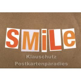 Smile | Discordia Postkarte