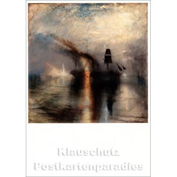 Kunstpostkarte   William Turner   Peace - Burial at Sea (1842)