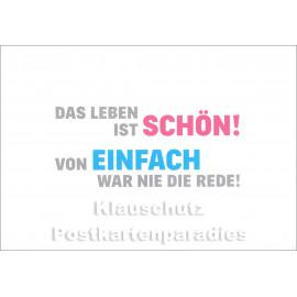 Von EINFACH ... | Rabenmütter Postkarte