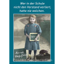 10 schöne und lustige Postkarten vom Postkartenparadies zum Thema Schule im Sparpaket. | JS124 Schule und Verstand