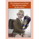 10 schöne und lustige Postkarten vom Postkartenparadies zum Thema Schule im Sparpaket. | JS134 Dümmer stellen als die Lehrer
