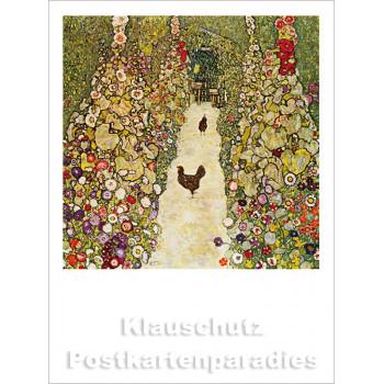 Rannenberg Kunst Postkartenbuch   Gustav Klimt - Bild 1
