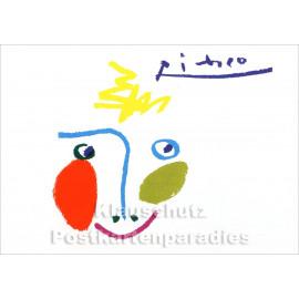 Kunstkarte / Taurus Kunst Postkarte | Pablo Picasso - La Lavandière