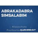 Retro Sprüche Sparset mit 10 lustigen Postkarten - Abrakadabra