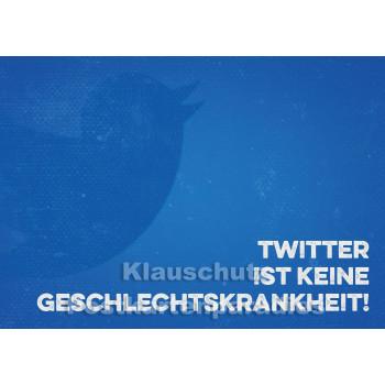 Retro Sprüche Sparset mit 10 lustigen Postkarten - Twitter