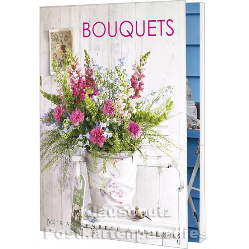 Postkartenbuch von Rannenberg mit 15 Karten | Blumen Bouquets