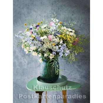 Postkartenbuch von Rannenberg mit 15 Karten | Blumen Bouquets - Wiesenstrauß