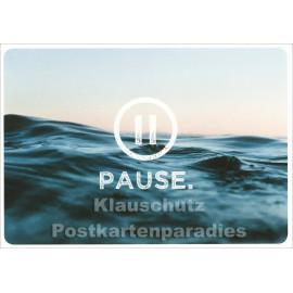 Pause - SkoKo Postkarte