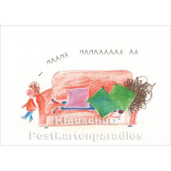 Mama, Mamaaaa | Mütter Postkarte