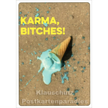 Discordia / Edition Boo Postkarte - Karma, Bitches