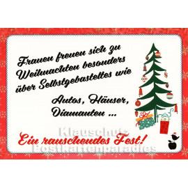 Ein rauschendes Fest | Mainspatzen Postkarte Weihnachten