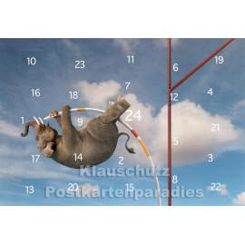 Rannenberg Adventskalender Postkarte - Zauberhafte Welten