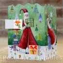 Leuchtender Adventskalender von Taurus - Weihnachtsfrau