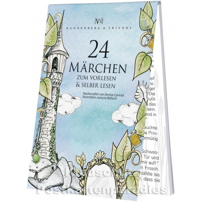 Adventskalender Blöckchen von Rannenberg - 24 Märchen