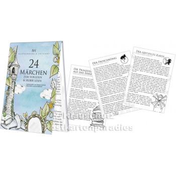 Adventskalender Blöckchen von Rannenberg - 24 Märchen | Detailansicht