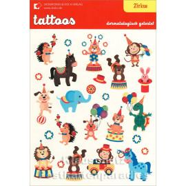 SkoKo Kinder Klebe Tattoos | Zirkus