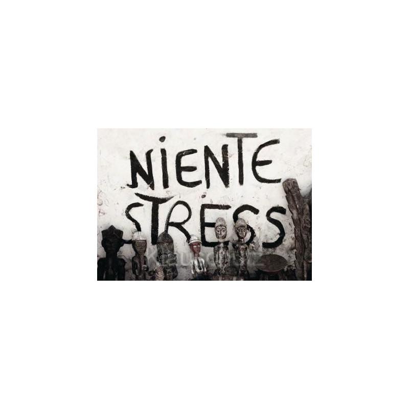 Niente Stress - Graffiti Fotokarte / Postkarte von Discordia