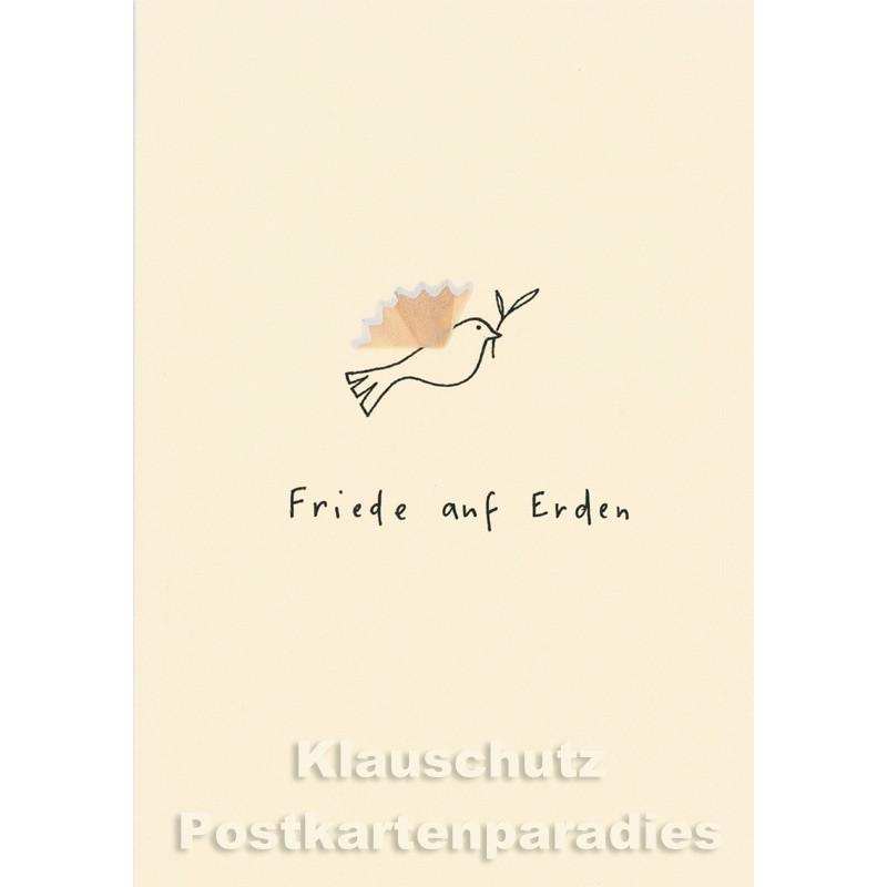 Buntstift Spitzer Doppelkarte  von Discordia - Friede auf Erden