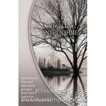 Sparpreis Trauer Postkarten - Aufrichtige Anteilnahme