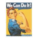 We Can Do It! Starke Frauen Postkarte