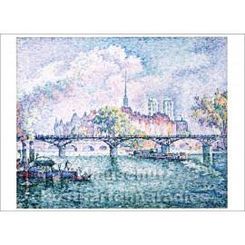 Taurus Kunstkarte | Paul Signac | Le Pont des Arts
