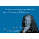 Postkarten Sparset  Zitate 1 - Voltaire