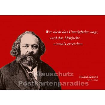 Postkarten Sparset  Zitate 1 - Bakunin