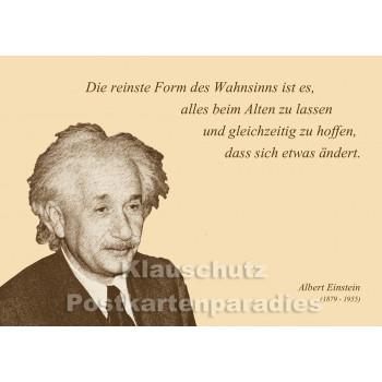 Postkarten Sparset  Zitate 1 - Einstein