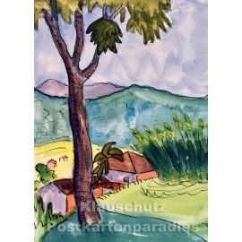 Taurus Kunstkarte   Hermann Hesse   Tessiner Landschaft