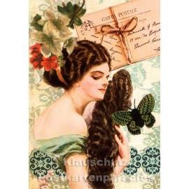 Nostalgie Retro Postkarte Carte Postale 28