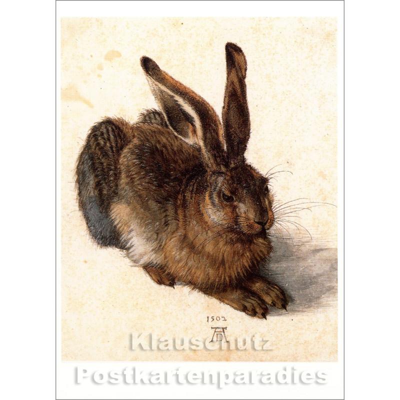 Taurus Kunst Postkarte | Albrecht Dürer | Feldhase