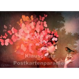 Catrin Welz-Stein Kunstkarte | Freundschaft 2