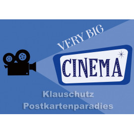 Very big cinema | DEnglish Postkarte vom Postkartenparadies