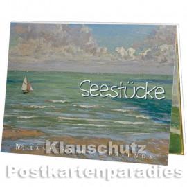 Postkartenbuch mit 15 Kunstpostkarten - Seestücke