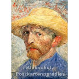 Kunstpostkarte von Taurus   Vincent van Gogh - Selbstportrait