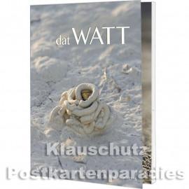Rannenberg Postkartenbuch | Dat Watt | Titelbild