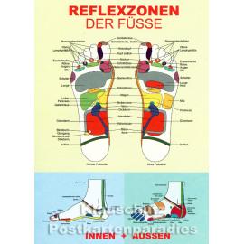 Reflexzonen - Up-Cards Aufstell Postkarte von Taurus