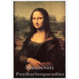 Kunstpostkarte von Taurus   Leonardo da Vinci - Mona Lisa