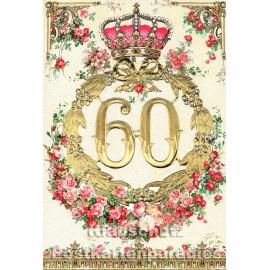 ActeTre Doppelkarte runder Geburtstag | 60