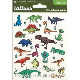 Dinos | SkoKo Kinder Tattoos